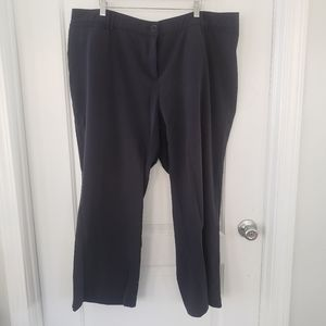 Avenue navy trousers stretchy waist size 22Petite